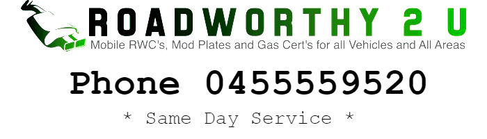 Roadworthy 2 U Mobile Toowoomba Brisbane Sunshine Coast Gympie Hervey Bay Bundaberg Rockhampton